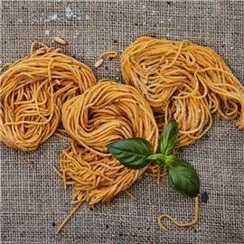 spaghetti chitarrab pasta