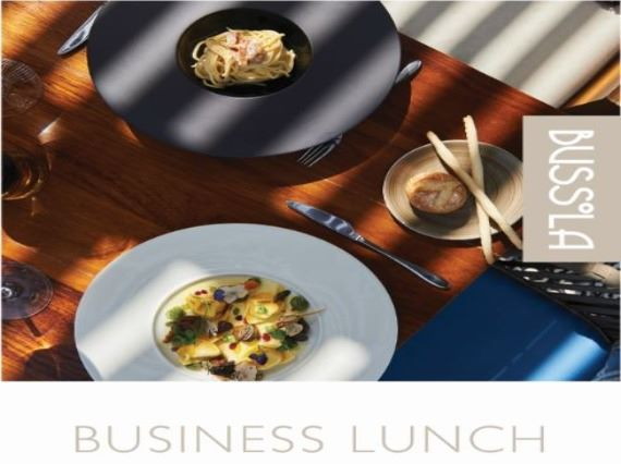 business lunch 2021